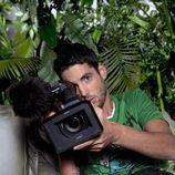 Santiago Trancho, cámara de 'La selva en casa'