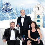 El trío protagonista de las Campanadas de Telecinco
