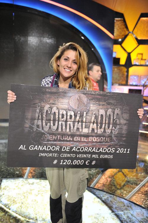 Nagore Robles, flamante ganadora de 'Acorralados 2011'