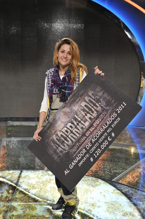 Nagore Robles, ganadora de 'Acorralados 2011'