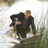 Horatio en la escena del crimen en 'CSI: Miami'