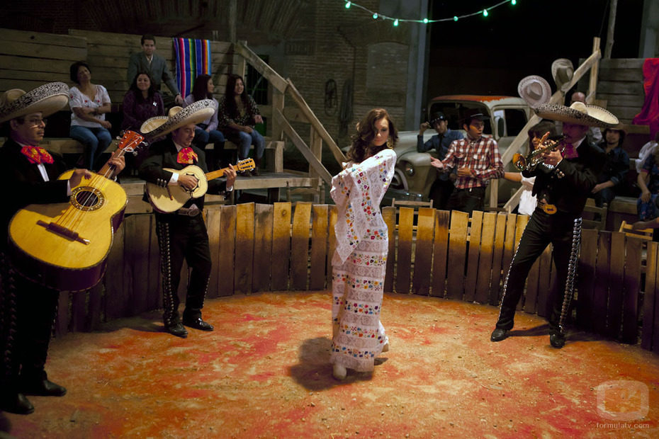 La cantante en el Palenque, en 'Rocío Durcal, volver a verte'