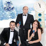 El trío protagonista de las campanadas de Telecinco de 2011