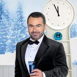 Jorge Javier Vázquez en la noche de fin de año en Telecinco