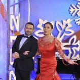Isabel Pantoja y Jorge Javier Vázquez en las Campanadas de Telecinco
