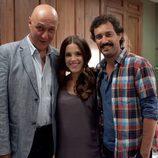 Protagonistas de 'KMM' (Kubala, Moreno i Manchon)