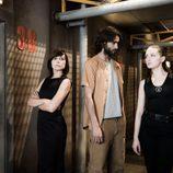 Marian Álvarez, Aitor Luna y María Valverde en 'La fuga'