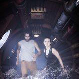 La pareja protagonista de 'La fuga' en Telecinco