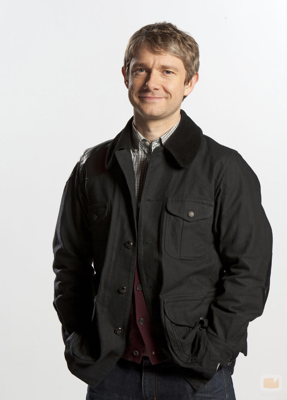 Martin Freeman en 'Sherlock'