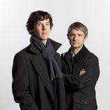 Sherlock y Watson en la serie 'Sherlock'