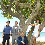 Protagonistas del remake de 'Hawai 5.0'