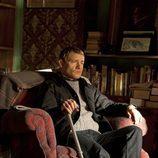 Martin Freeman pensando en 'Sherlock'