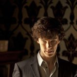 Benedict Cumberbatch en la serie británica 'Sherlock'