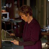 La señora Hudson en el primer episodio de 'Sherlock'