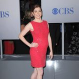La actriz Alyson Hannigan embarazada en los People's Choice Awards 2012