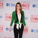 Emma Stone en los People's Choice Awards 2012