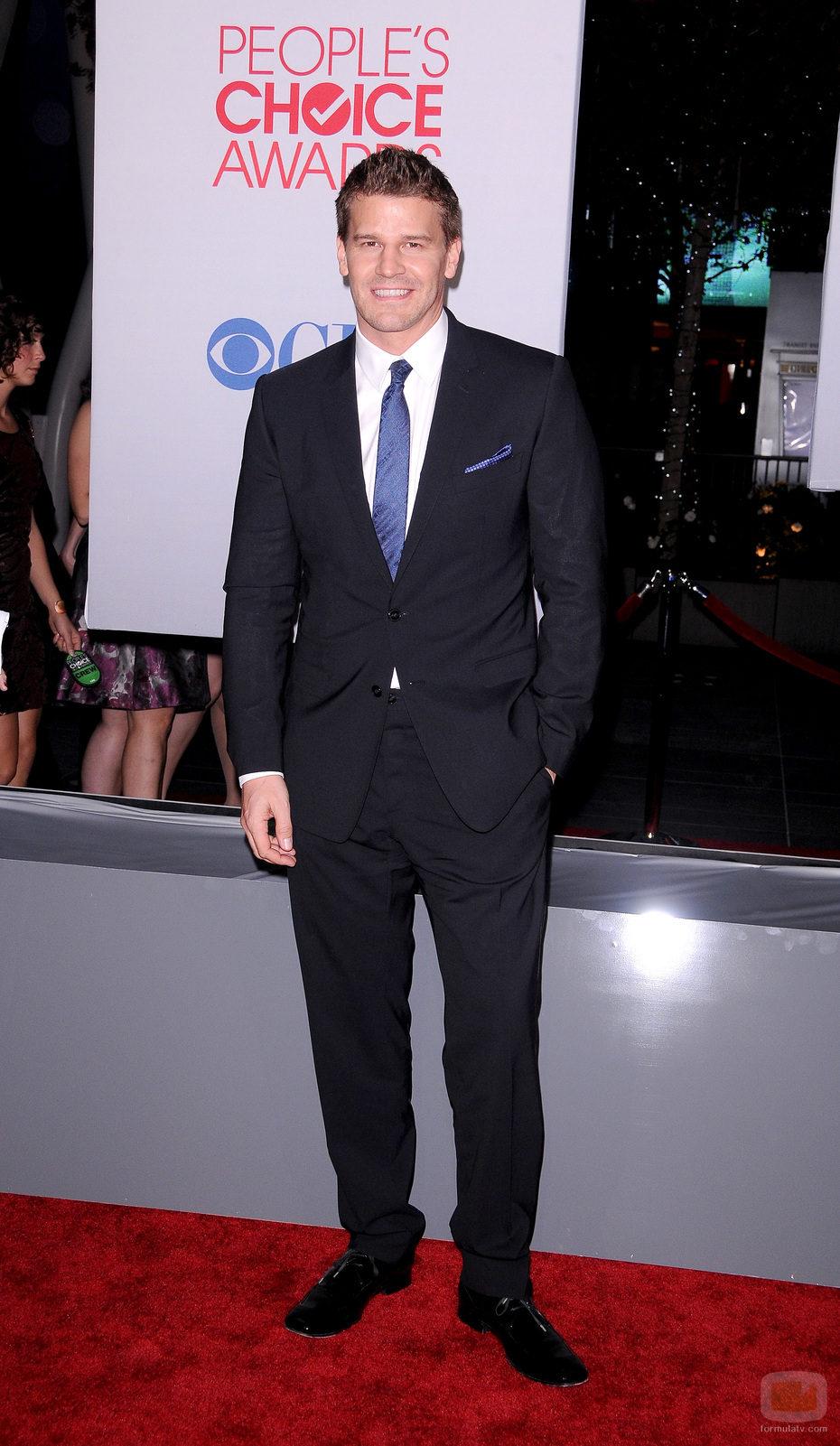 David Boreanaz en los People's Choice 2012