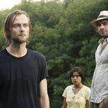 Joe Anderson y Paul Blackthorne en 'The River'
