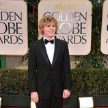 Evan Peters de 'AHS' en los Globos de Oro 2012