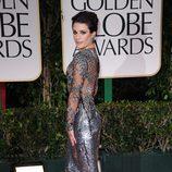 Lea Michele en los Globos de Oro 2012
