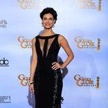 Morena Baccarin en los Globos de Oro 2012