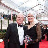 Julian Fellowes, de 'Downton Abbey', en los Globos de Oro 2012
