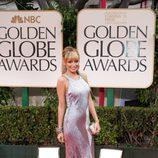 Nicole Richie en los Globos de Oro 2012