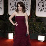 Tina Fey en los Globos de Oro 2012