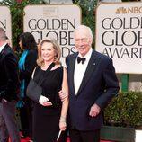 Christopher Plummer en los Globos de Oro 2012