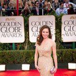 Diane Lane en los Globos de Oro 2012
