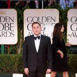 Jonah Hill en los Globos de Oro 2012