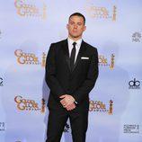 Channing Tatum en los Globos de Oro 2012