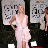 Charlize Theron en los Globos de Oro 2012