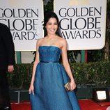Freida Pinto en los Globos de Oro 2012