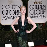 Evan Rachel Wood en los Globos de Oro 2012