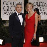 George Clooney y Stacy Kleiber