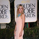 Heidi Klum en los Globos de Oro 2012
