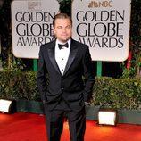 Leonardo DiCaprio en los Globos de Oro 2012