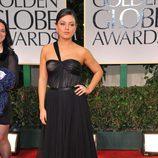 Mila Kunis en los Globos de Oro 2012