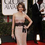 Sarah Hyland en los Globos de Oro 2012