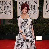 Sharon Osbourne en los Globos de Oro 2012
