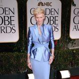 Tilda Swinton en los Globos de Oro 2012