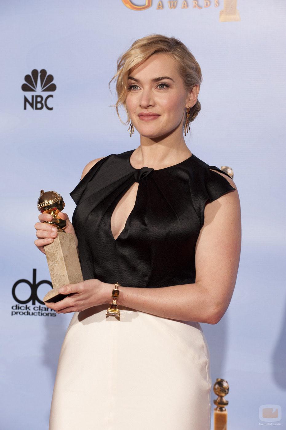 Kate Winslet, Globo de Oro 2012 por 'Mildred Pierce'