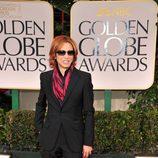 Yoshiki en los Globos de Oro 2012