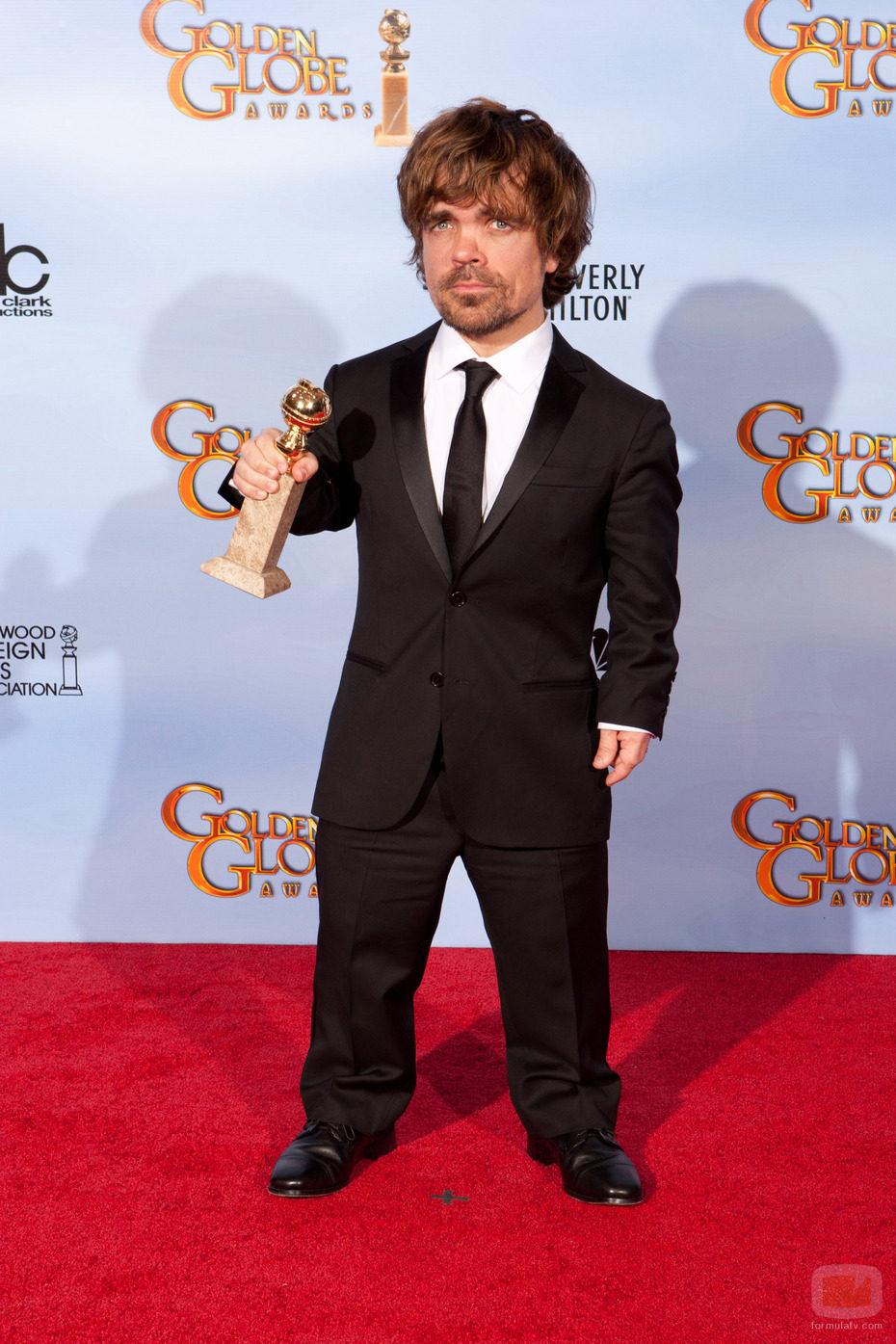 Peter Dinklage, Globo de Oro 2012 por 'Juego de Tronos'