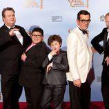 Los chicos de 'Modern Family' en los Globos de Oro 2012