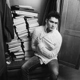Sergio Mur, en blanco y negro para Overlay Magazine
