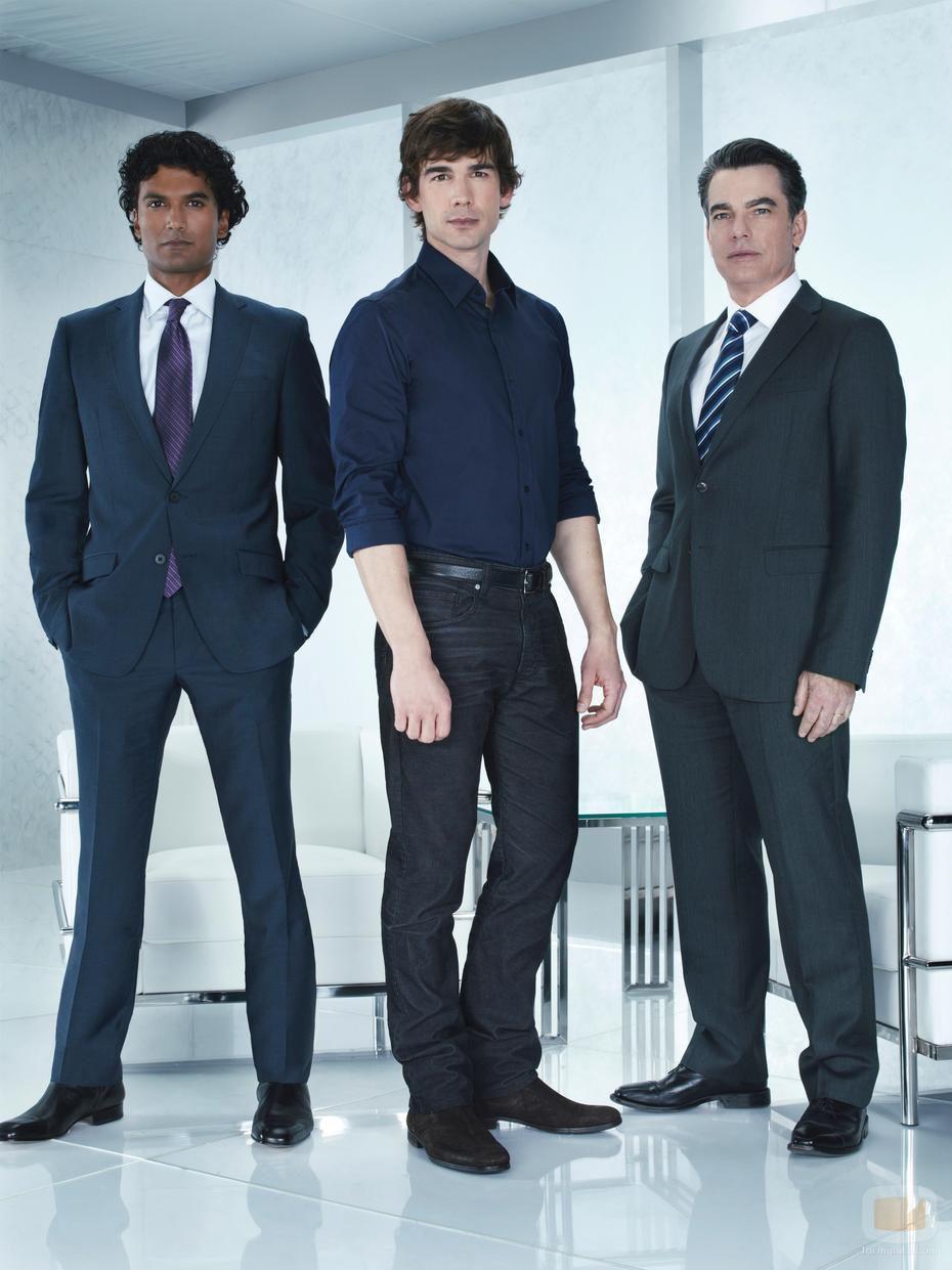 Los tres protagonistas masculinos de 'Covert Affairs'