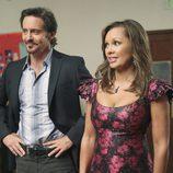 Vanessa Williams y Charles Mesure, pareja de guapos en 'Mujeres desesperadas'