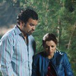 Ricardo Chavira y Eva Longoria en 'Mujeres desesperadas'